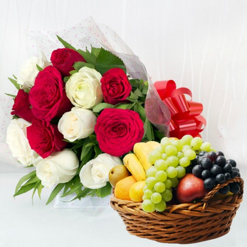 Fruits and Roses Combo
