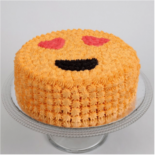 Love Smiley Cake