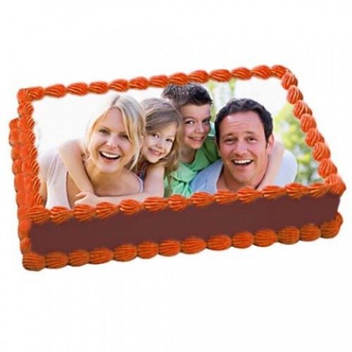 Rectangle Pic Cake