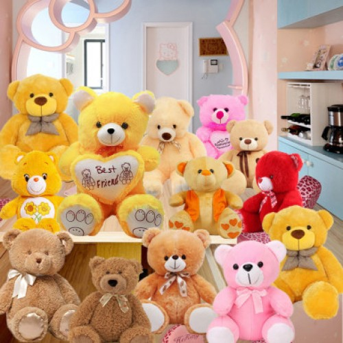 Lots of teddies