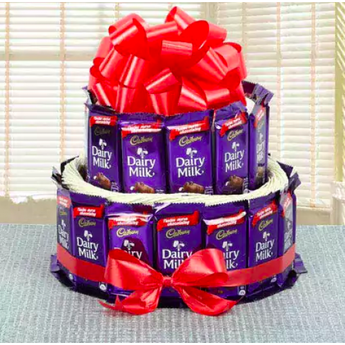 2 Tier dairy milk