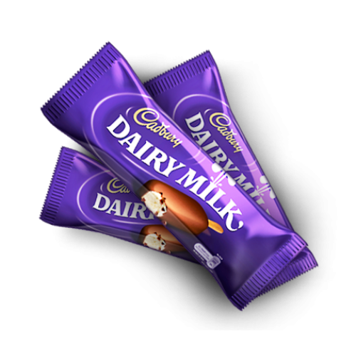3 Dairy milk (13 gm. each)
