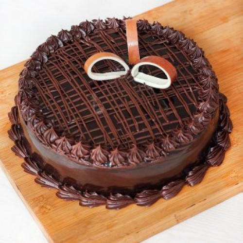 Adorable Truffle Cake