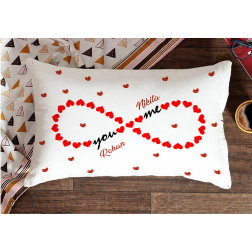Personalised Valentine Pillow