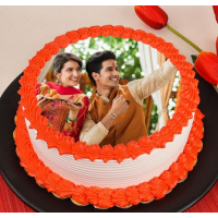 Photo Cake for rakhshabandhan