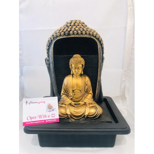 Lord Buddha Fountain Decor(2-3 Delivery Days)