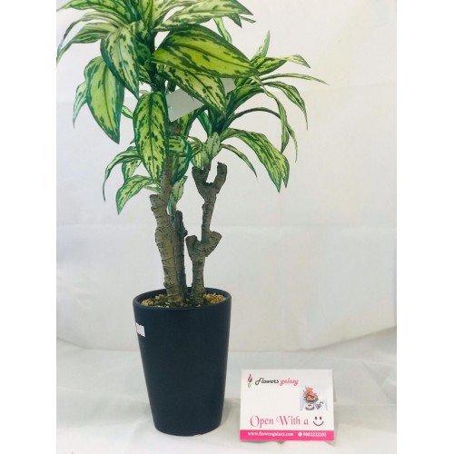 Green and White Artificial Plant (2-3 Delivery Days)