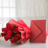 Beautiful Red Hamper