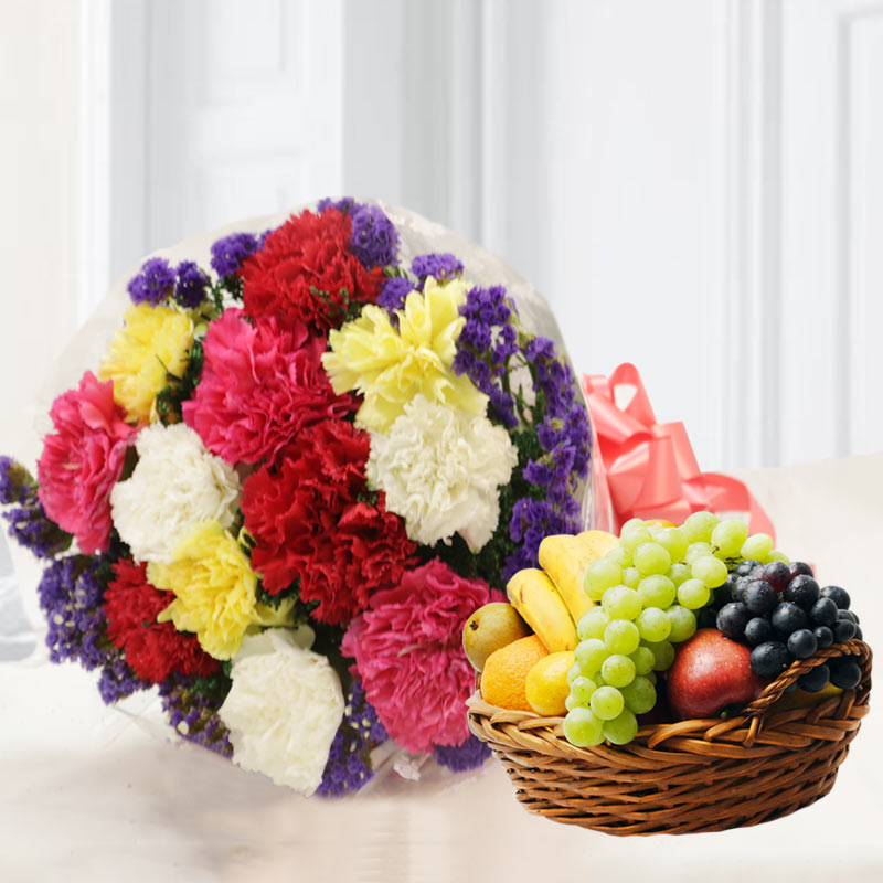 Mix Flowers & Fruits