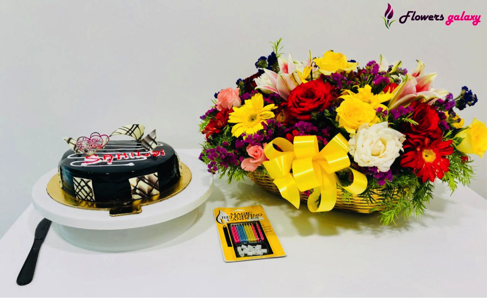 Cake and Flowers Online