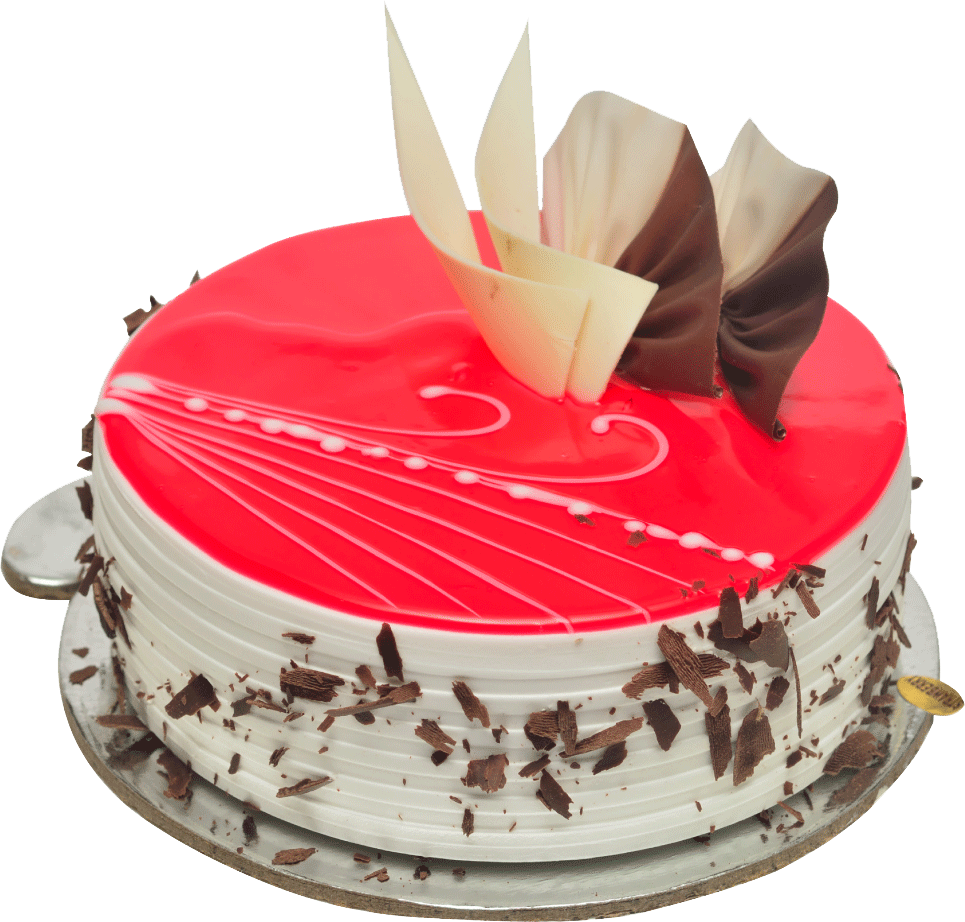 Order Strawberry Jelly Cake Online Flowers Galaxy