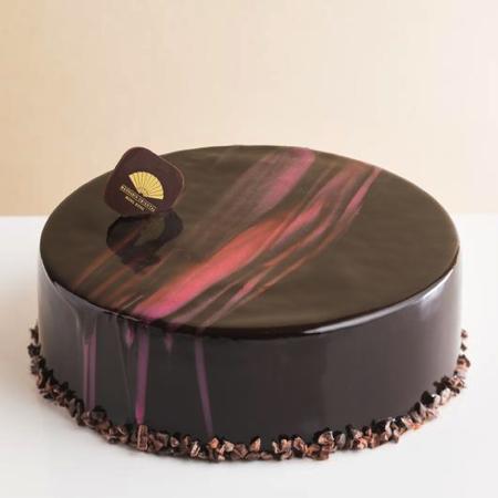 Truffle Rasberry Cake