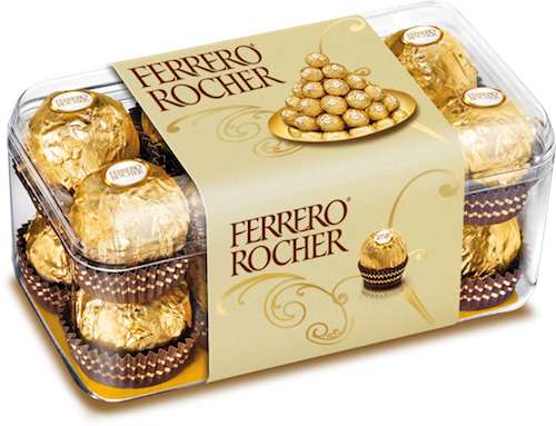 16 pcs Ferrero Roacher